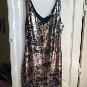 Soprano Multi Colored Sequin Dress